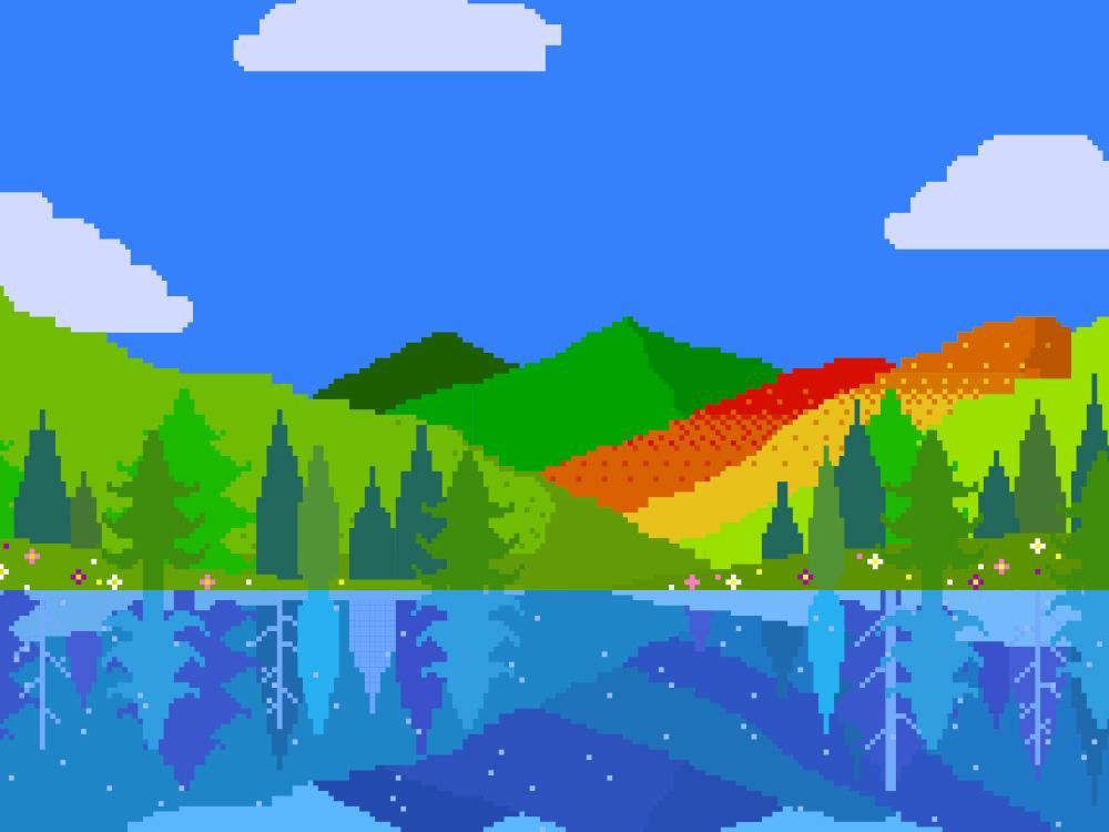 西和賀の四季の山々