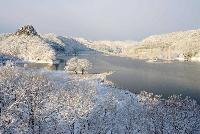 錦秋湖 2018年12月撮影 Photo by 瀬川強
