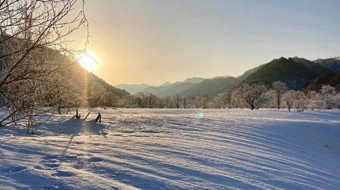 ダイアモンドダストの朝 Photo by 瀬川然